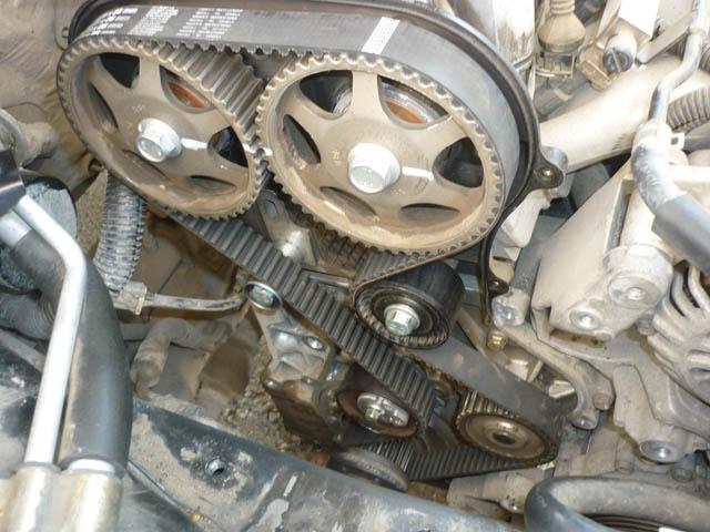 Замена ремня ГРМ Вортекс Тинго 1.8 л с фото и видео - AutoGRM 17