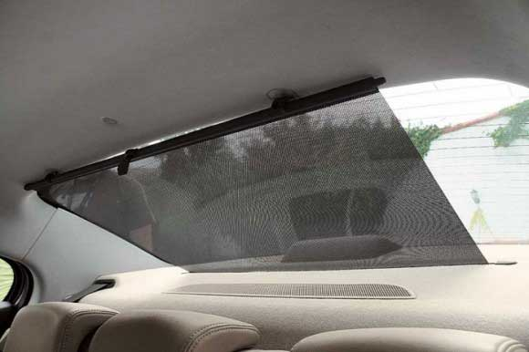 Как сделать каркасные шторки на автомобильные стекла - Walton