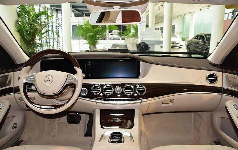 Mercedes Benz Maybach S Class Interior Photos Of