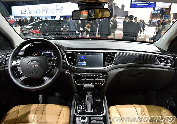 Foreign Car Brands >> GAC Trumpchi GS7 - Interior photos of.
